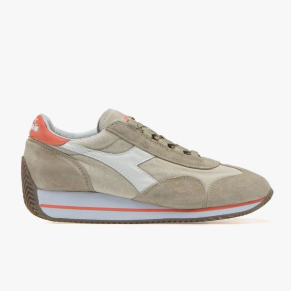 DIADORA REBOUND ACE WHITEVERMILLION ORANGE HABITAT Store