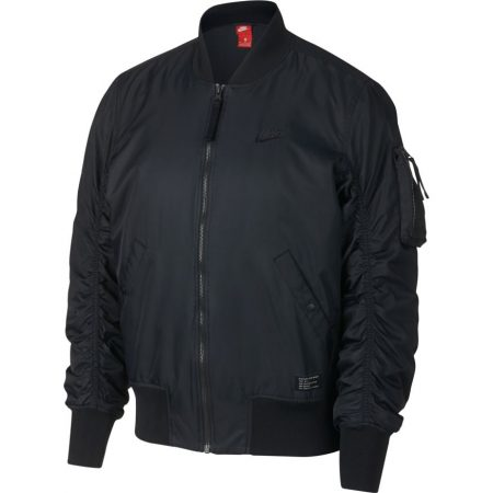 9e6fca4875f3 Nike Sportswear AF1 Bomber Jacket Black Black giacche