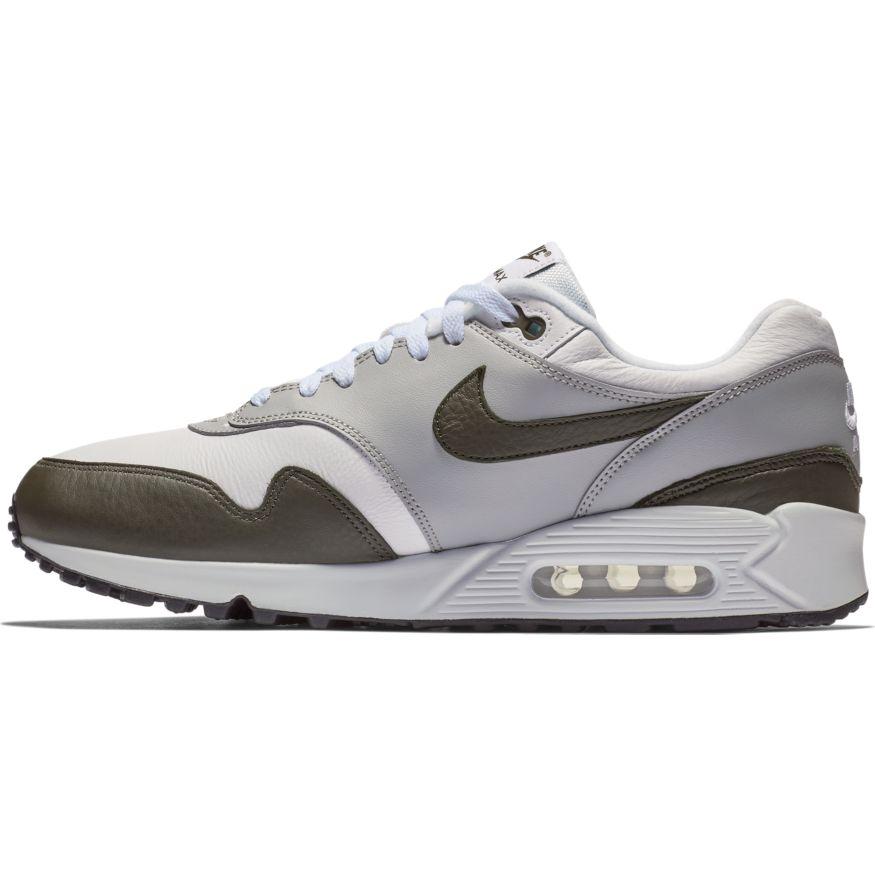 lowest price 7b5a7 c0d7f Nike Air Max 90 1 White Cargo Khaki-Black scarpe - Sixstreetshop