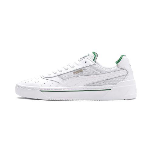 Puma CALI 0 Puma WhiteAmazon Green Puma White scarpe
