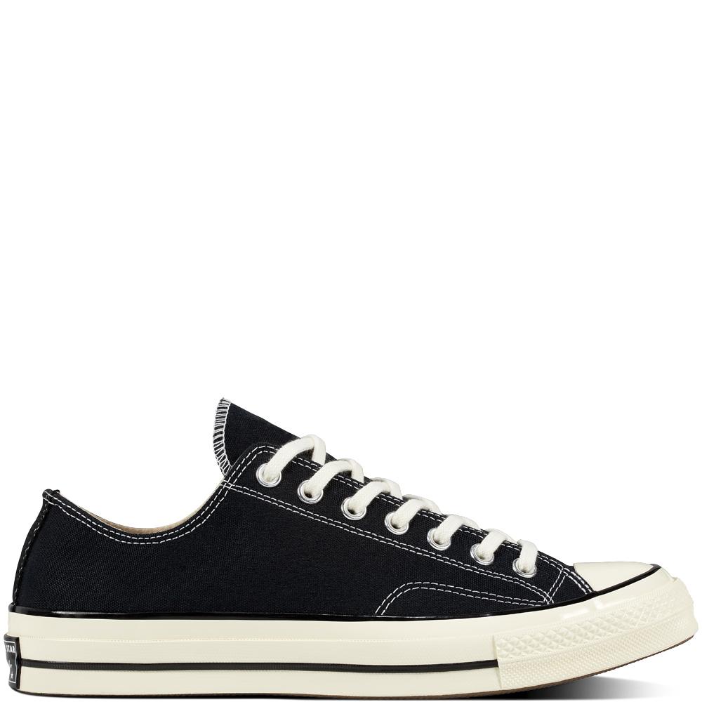 Converse Chuck 70 Classic Low Top Black/Black/Egret scarpe