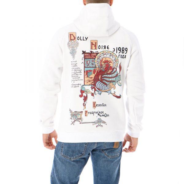 dolly-noire-dragon-hoodie-white-felpe-sixstreet-shop-bolzano-roma-milano-firenze-napoli-venezia-torino-bologna-1