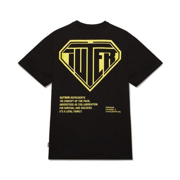 iuter-double-logo-tee-black-t-shirt-sixstreet-shop-bolzano-roma-milano-firenze-napoli-venezia-torino-bologna
