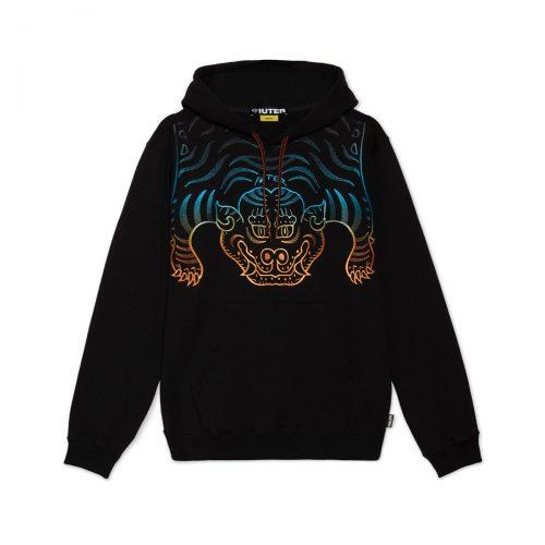 iuter-tibetan-gradient-hoodie-blueorange-black-t-shirt-sixstreet-shop-bolzano