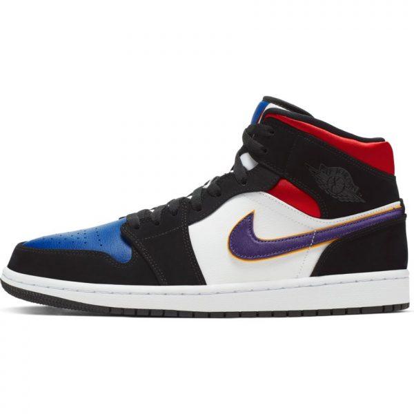 jordan-1-mid-se-black-field-purple-white-gym-red-scarpe-sixstreet-shop-bolzano-roma-milano-firenze-napoli-venezia-torino-bologna