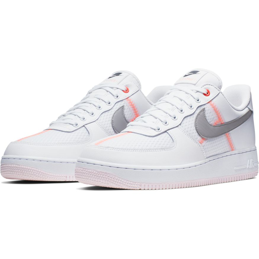 Nike Air Force 1 '07 LV8 WhiteAtmosphere Grey Off Noir scarpe