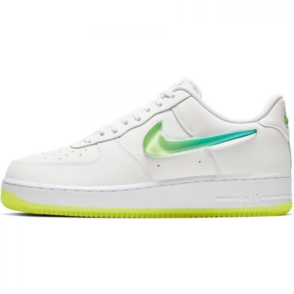 nike-air-force-1-07-premium-2-white-volt-hyper-jade-scarpe-sixstreet-shop-bolzano