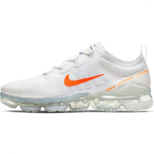 competitive price 527bc 29d51 Nike Air VaporMax 2019 White Total Orange-Cool Grey scarpe
