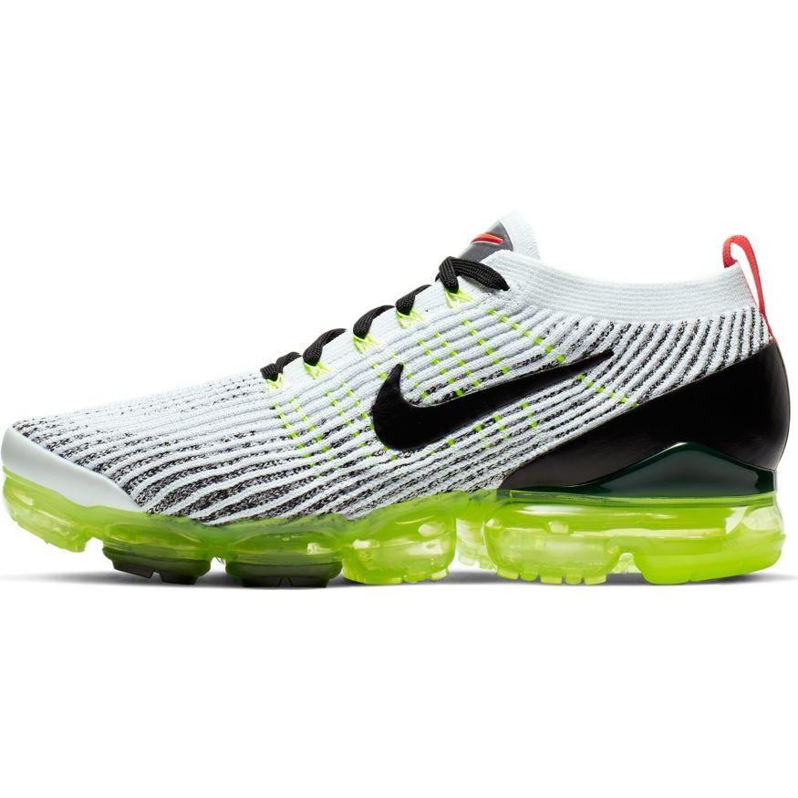 finest selection 425b1 16f04 Nike Air VaporMax Flyknit 3 White Black-Volt-Bright Crimson scarpe  sixstreet shop bolzano