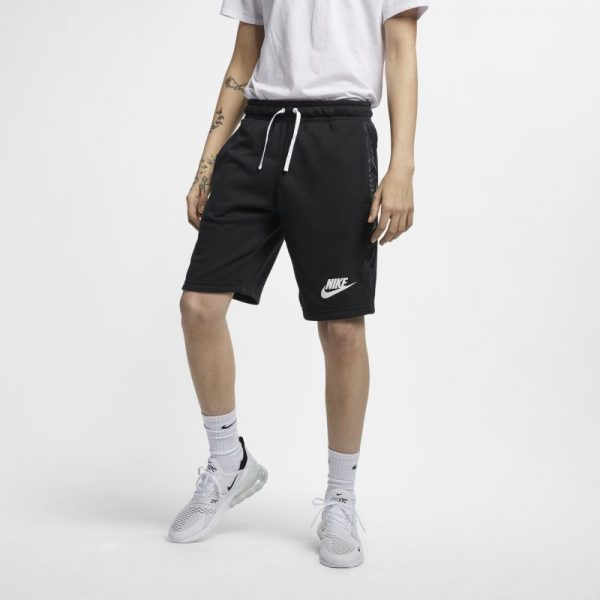 nike-sportswear-shorts-black-white-shorts-sixstreet-shop-bolzano-roma-milano-firenze-napoli-venezia-torino-bologna