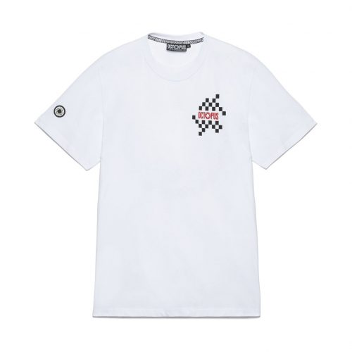 octopus-checkered-logo-tee-white-screen-printed-t-shirt-sixstreet-shop-bolzano