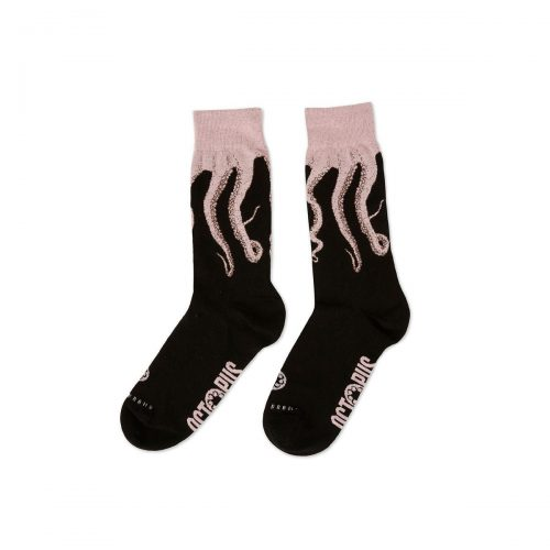octopus-socks-original-black-pink-calzini-sixstreet-shop-bolzano