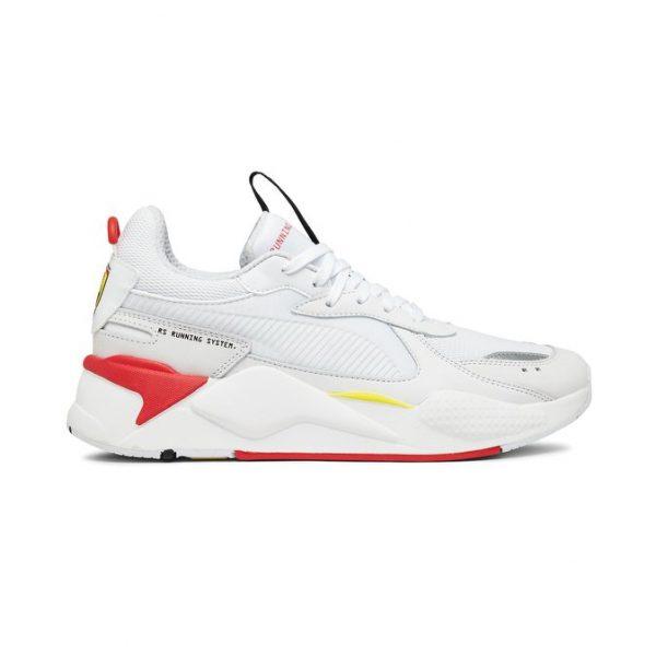 sneakers puma sf rs x trophy puma white puma white rosso corsa