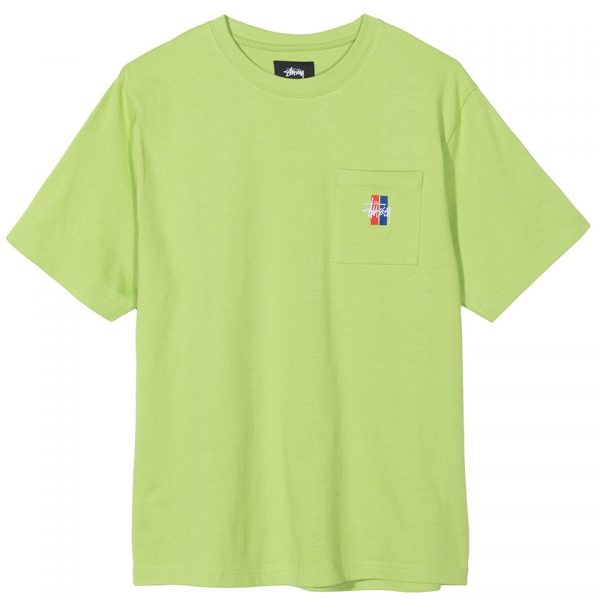 stussy-2-bar-stock-crew-green-t-shirt-sixstreet-shop-bolzano
