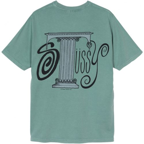stussy-column-pig-dyed-tee-sage-t-shirt-sixstreet-shop-bolzano