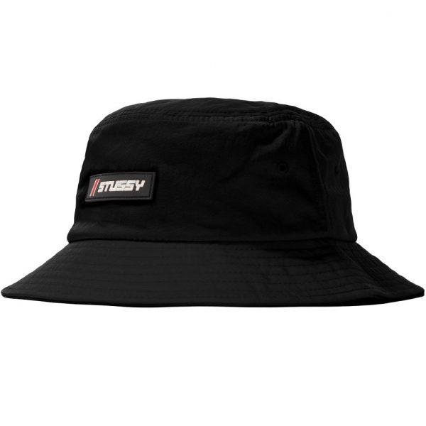 stussy-nylon-rubber-patch-bucket-hat-black-cappelli-sixstreet-shop-bolzano-roma-milano-firenze-nappoli-bologna-torino-venezia