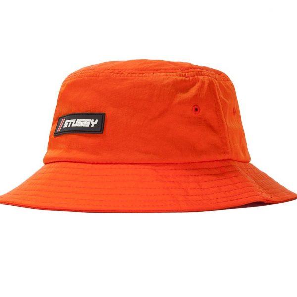 stussy-nylon-rubber-patch-bucket-hat-orange-cappelli-sixstreet-shop-bolzano-roma-milano-firenze-napoli-venezia-torino-bologna