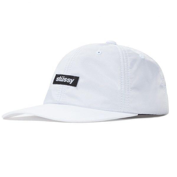 stussy-poly-ripstop-low-pro-cap-white-cappelli-sixstreet-shop-bolzano-roma-milano-firenze-napoli-venezia-torino-bologna