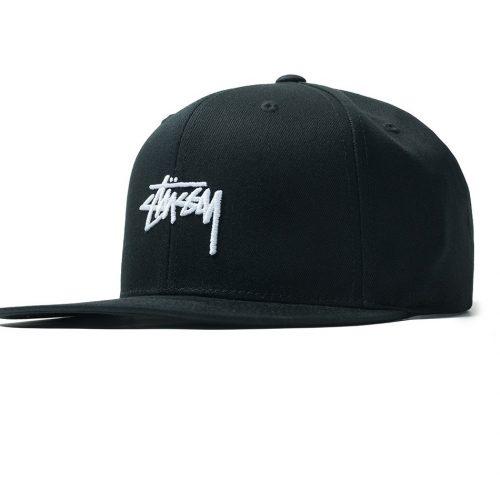 stussy-sp19-stock-snapback-black-cappelli-sixstreet-shop-bolzano