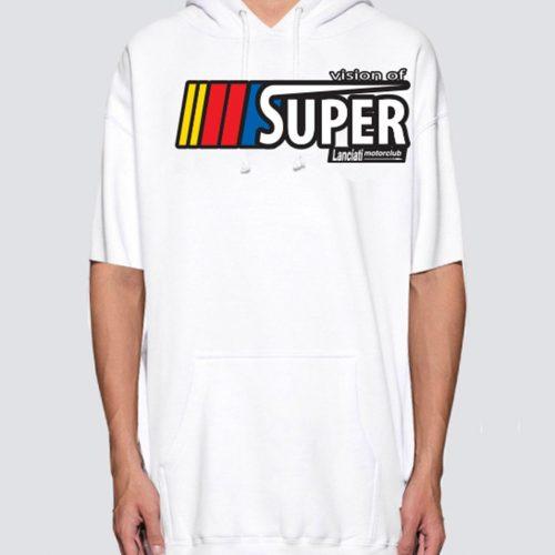 vision-of-super-nascar-white-short-hoodie-felpe-sixstreet-shop-bolzano