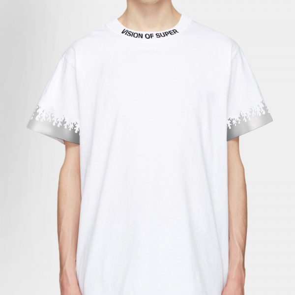 vision-of-super-reflex-flame-tee-white-t-shirt